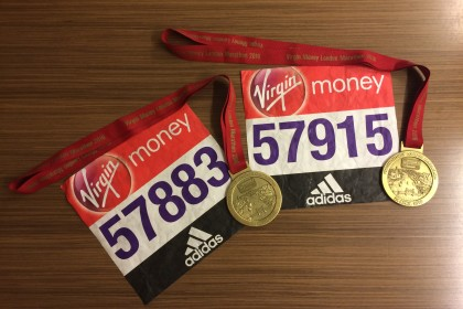 La mia Maratona di Londra