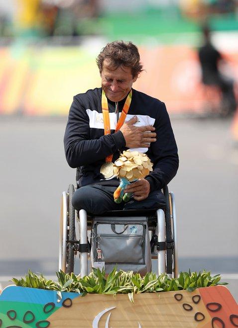 Alex Zanardi | Lezioni di vita da Rio 2016